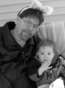 Alex Bledsoe & child
