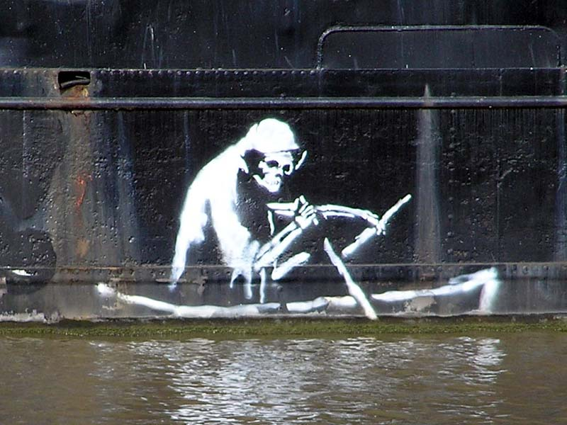 banksy quotes on art. Archive for Banksy