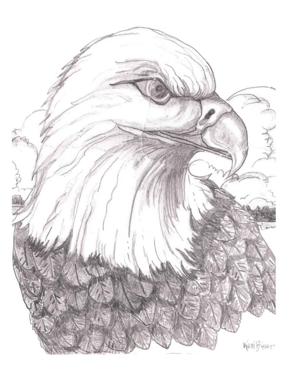 Kari-5x7 Cards eagle